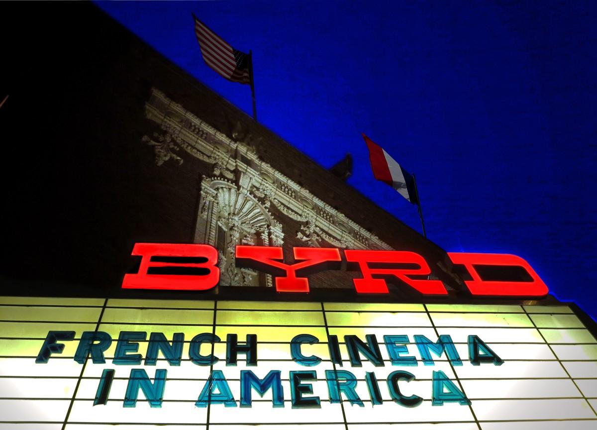 Le festival se tient toujours au Byrd, une des plus belles salles de cinéma des USA