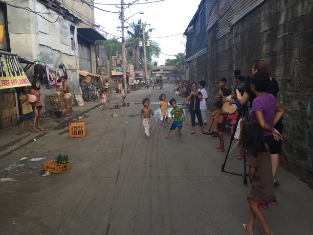 Dans les quartiers défavorisés de Manille