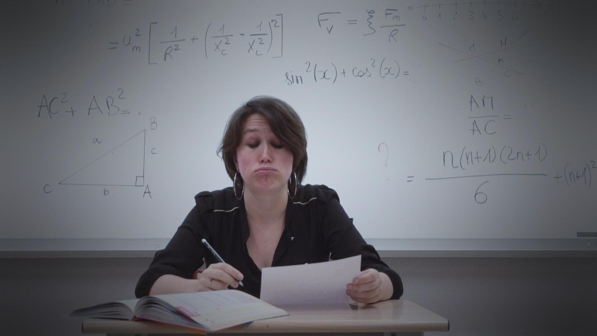 C'est bien connu, les femmes sont nulles en maths. Non ?