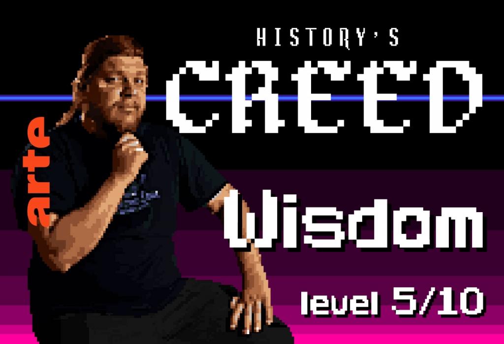 """Épisode 5 – WISDOM   Dans les studios, qui gagne la battle secrète """"historien contre créatif"""" ? Les historiens assument-ils les libertés avec l'histoire ?"""