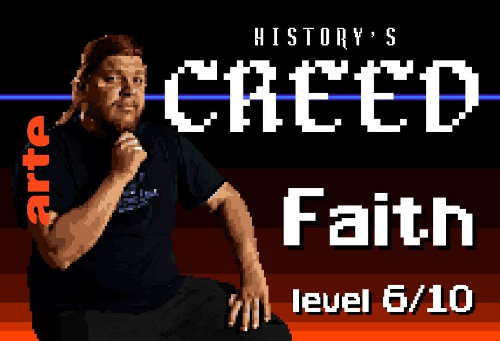 Épisode 6 – FAITH   Les créateurs de jeux vidéo adorent la mythologie, et ses divinités, bien pratiques. Mais comment jouer de la colère des dieux sans attirer celle des croyants ?