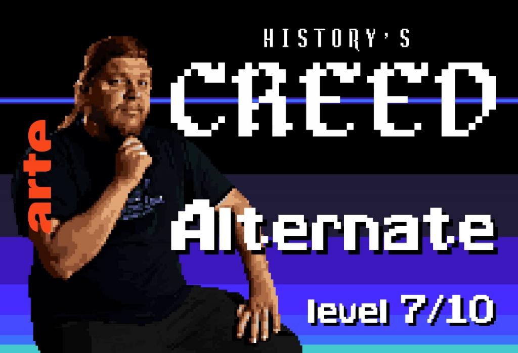 Épisode 7 – ALTERNATE   Les uchronies, c'est quand l'histoire prend un chemin alternatif, juste pour le plaisir : le jeu vidéo en est le terrain privilégié, un vrai laboratoire historique !