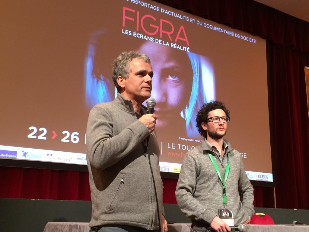 Benoit Grimont et Joël Curtz, pour leur avant-première
