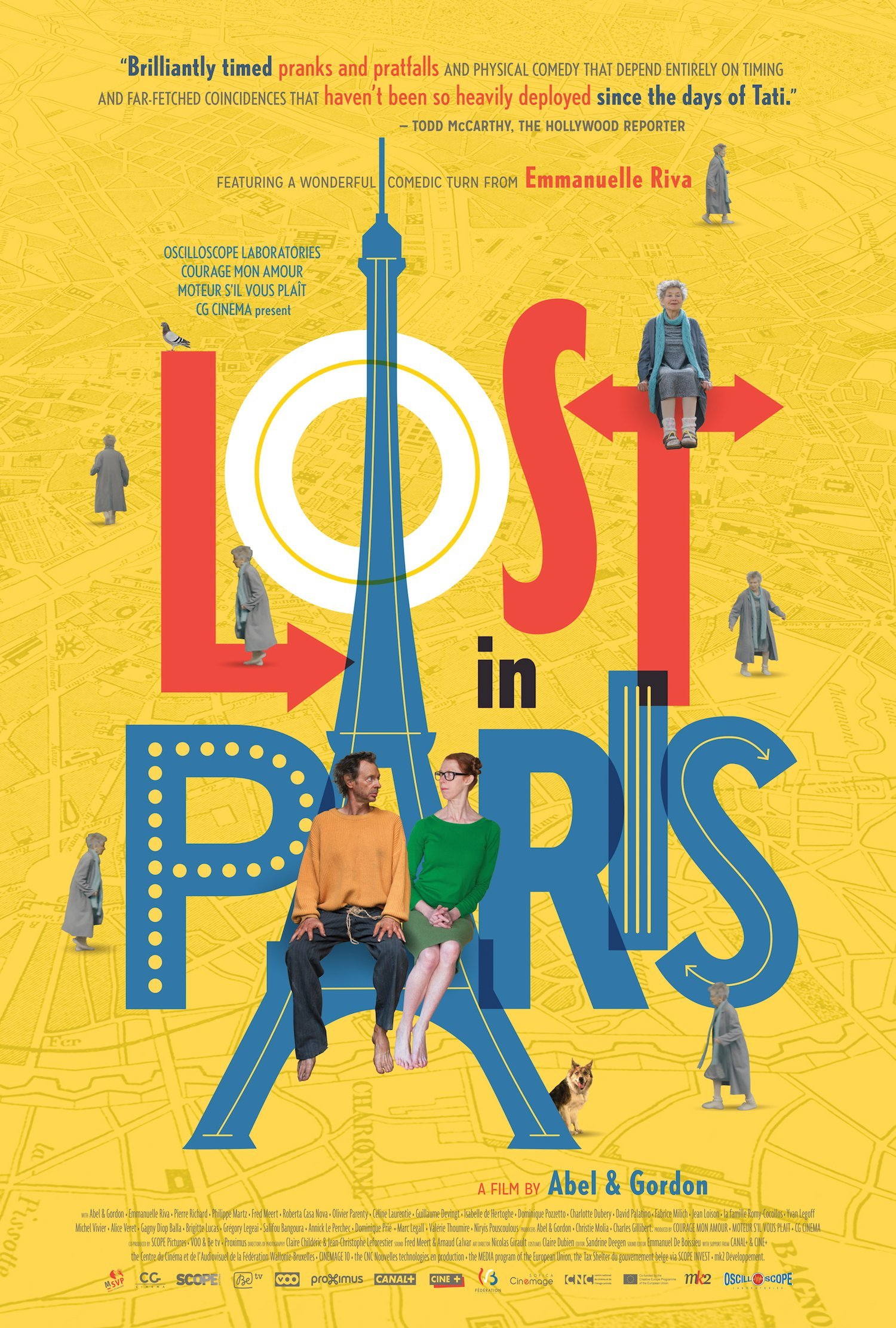 LOST IN PARIS Poster US