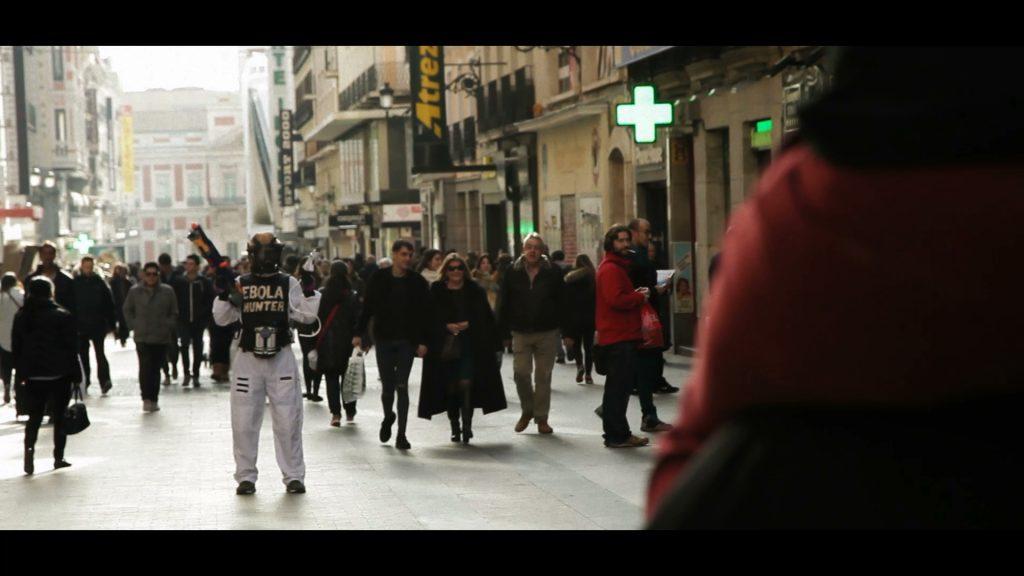 Sur le tournage du prochain film de Wakaliwood, à Madrid