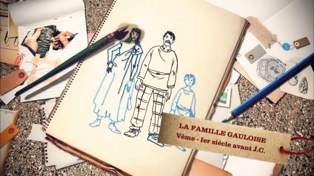 Sur nos Traces Saison 1 Episode 7 : La famille gauloise