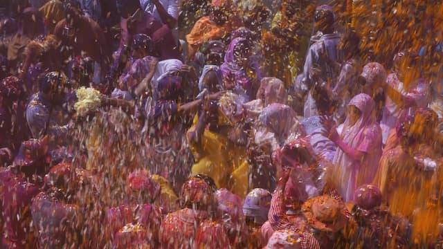 Inde : la fête des couleurs