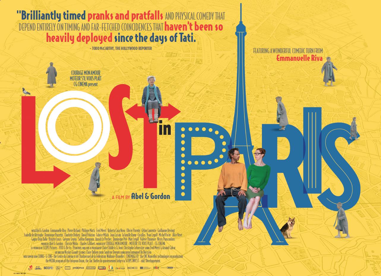 Affiche UK Lost In Paris