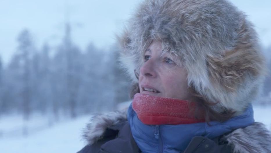 Alexandra en Sibérie, poour le premier épisode de la série