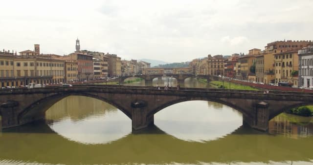 Florence sur l'Arno