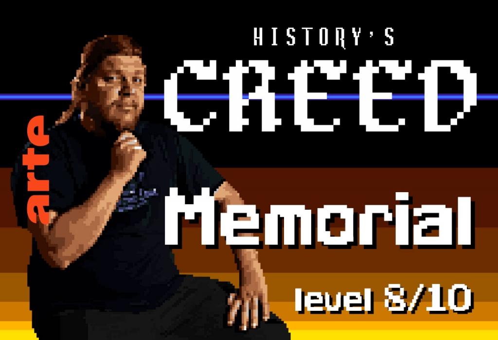 Épisode 8 – MEMORIAL   Les jeux vidéos historiques peuvent-ils aider à digérer l'histoire ?  Ont-ils une fonction mémorielle ?