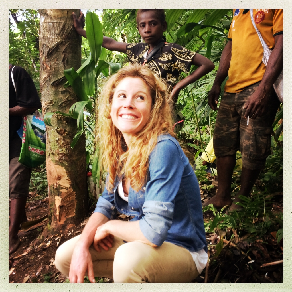 Anne-Sylvie incarne la série