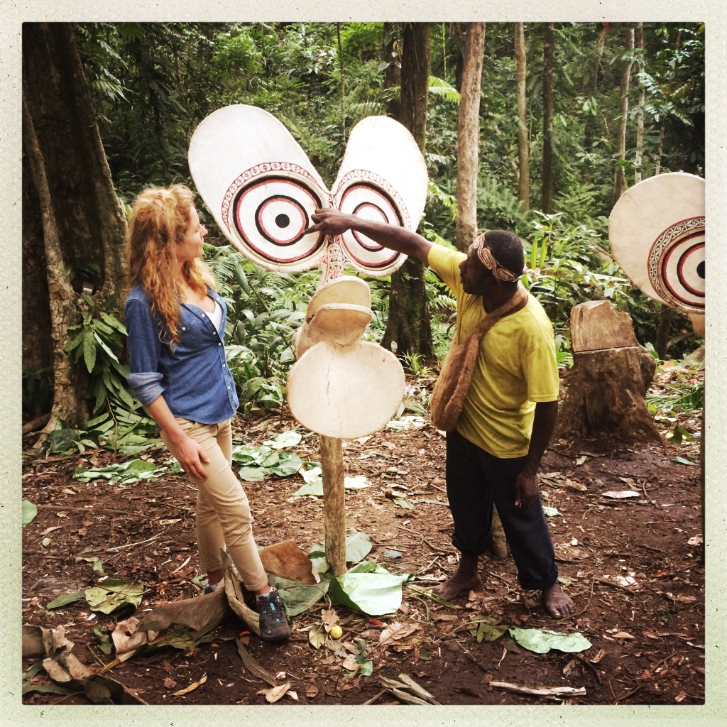 Premier tournage en Papouasie