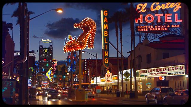 Drôle de ville pour une rencontre… à Las Vegas