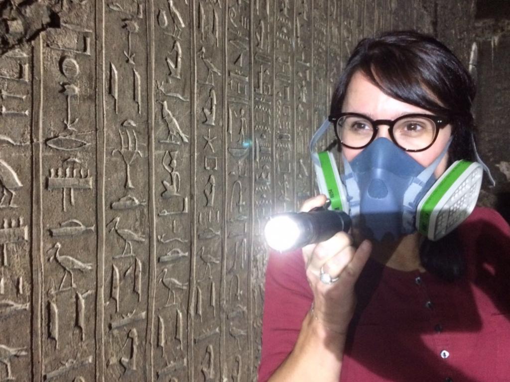 Masque obligatoire dans la tombe de Padiamenopé