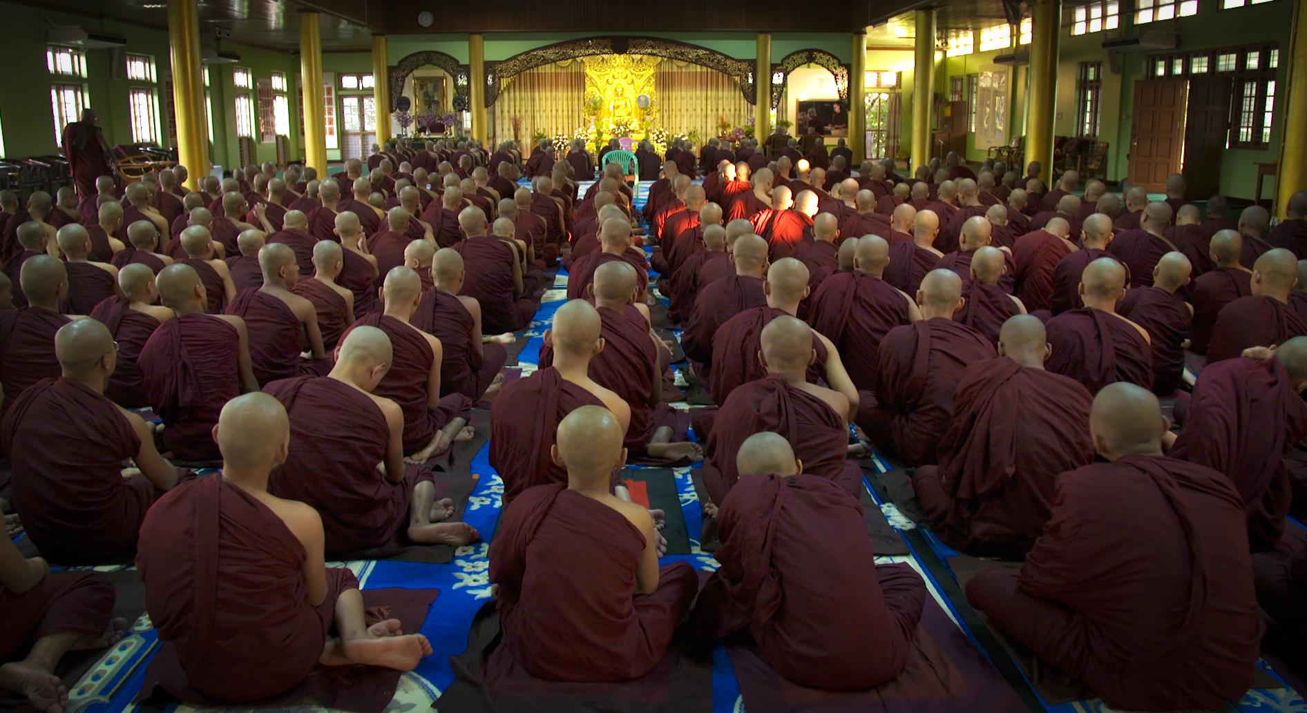 Priere moines