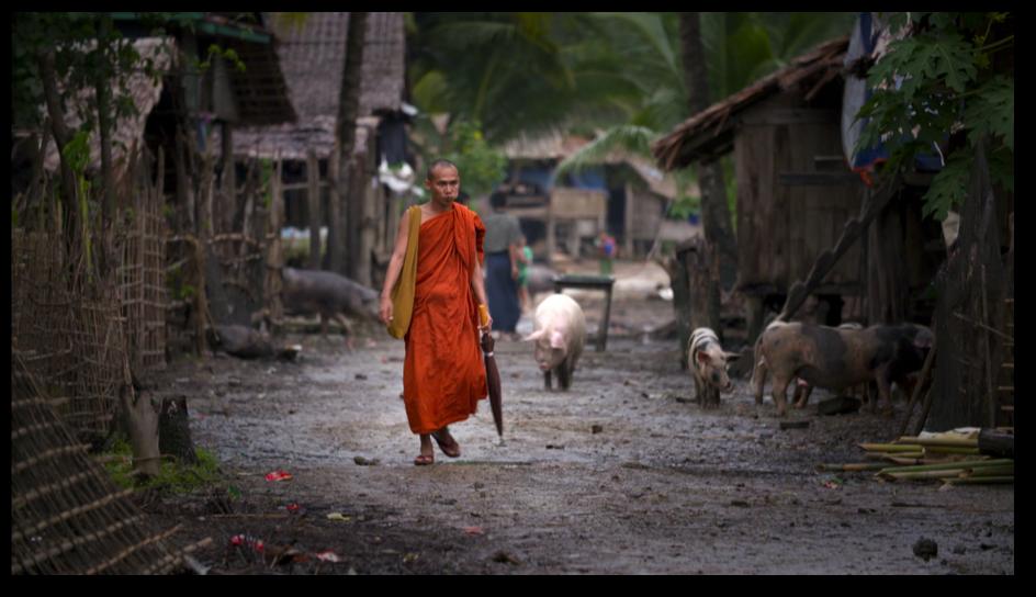 Certains moines sont missionnaires