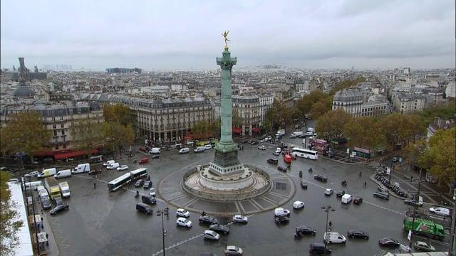 De la place de la Bastille au Faubourg Saint Antoine