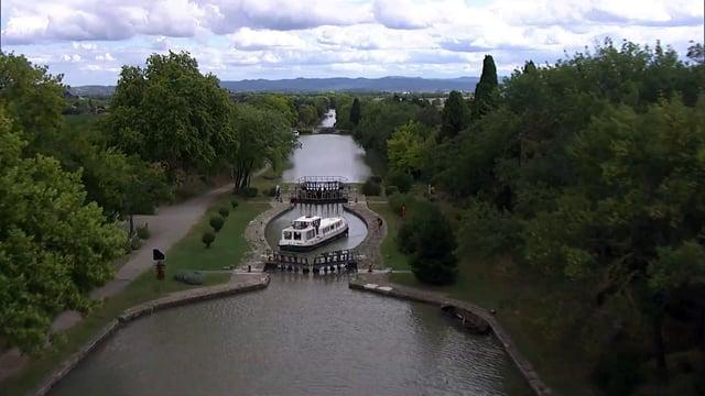 Sur le canal du midi, entre Toulouse et Sète