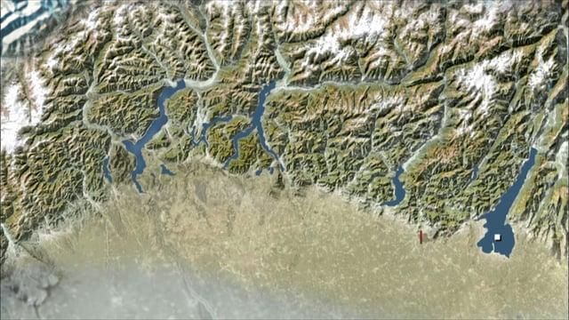 Sur les lacs italiens